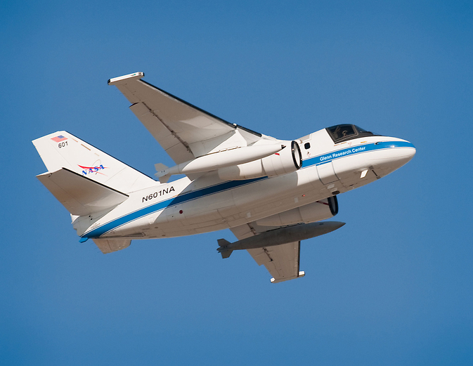 NASA Glenn's S-3 aircraft is one of the Center's multi-mission airborne research platforms.